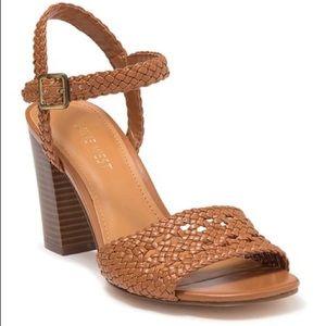 Nine West Tinsley Braided Block Heel Sandals 11